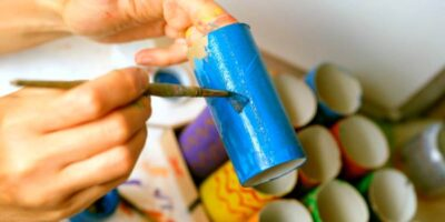 crafts from toilet paper rolls