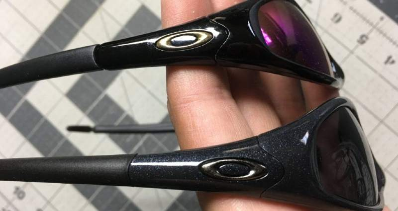 fake or genuine Oakley sunglasses