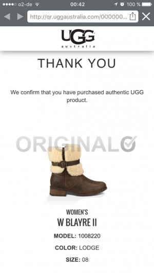 fake or genuine Ugg boots
