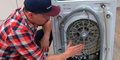 fix a washing machine that wont rotate (2)