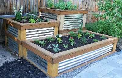 make a raised garden bed easily