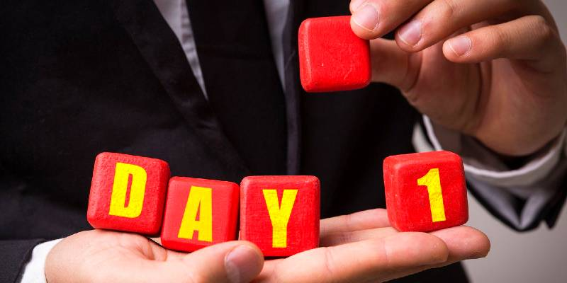 nail your first day in a new job