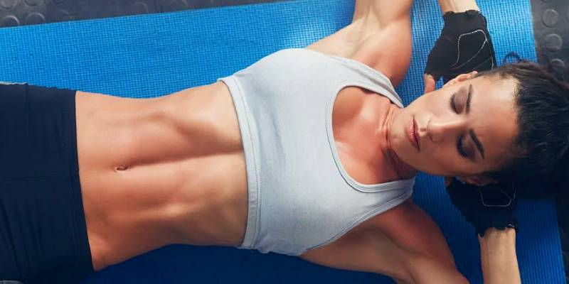 sculpt the lower abdominal muscles