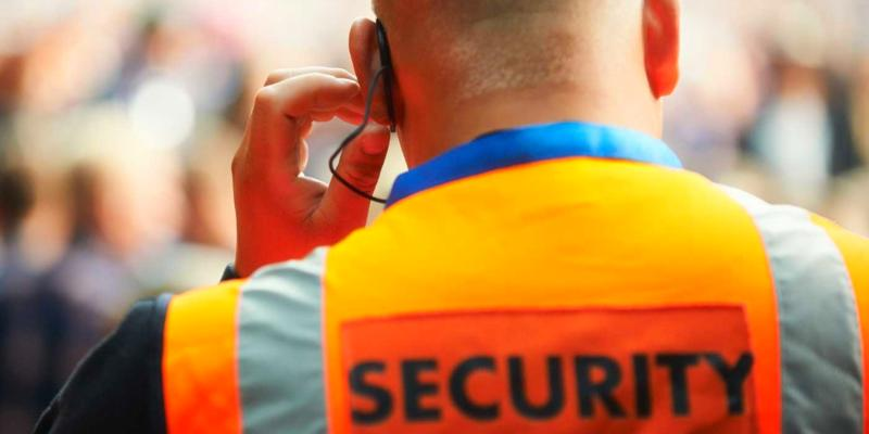 set up security for an event