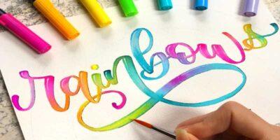 do hand lettering easily