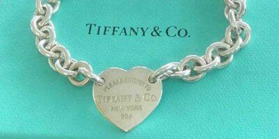 fake or genuine Tiffany heart bracelet