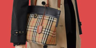 ways to tell a fake or genuine Burberry bag