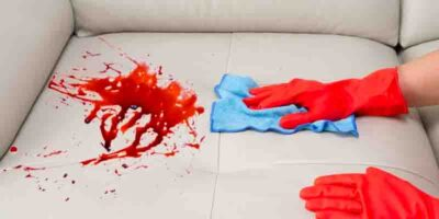 remove stains on a couch easily