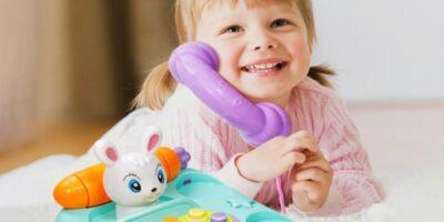When do children learn to talk