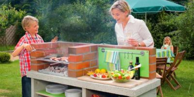 build a brick barbecue easily