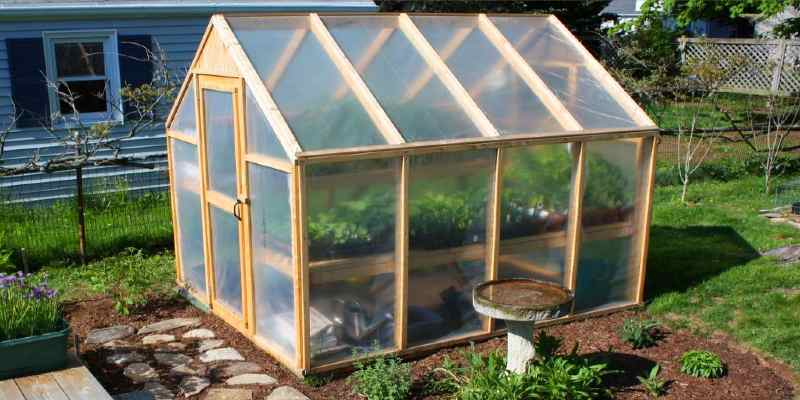build a greenhouse step by step
