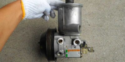 how to replace a power steering pump