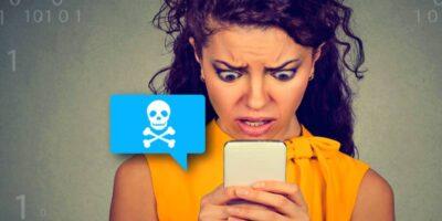 identify smishing SMS phishing