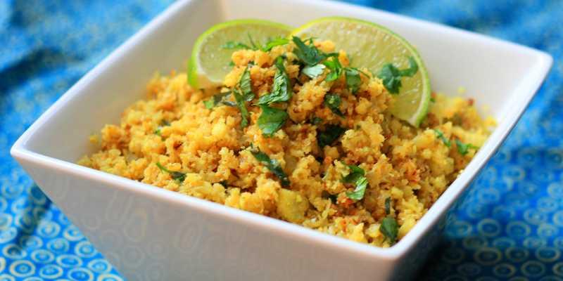 How to cook cauliflower rice: