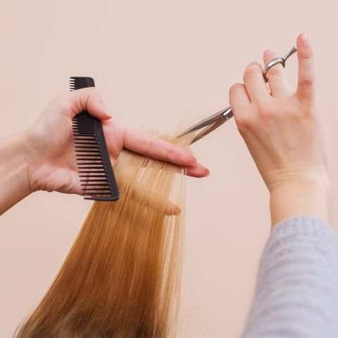 how to give yourself a haircut
