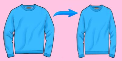 how to shrink clothes