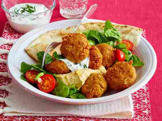 falafel - how to cook chickpeas (