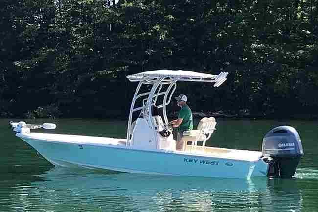 go boating in comfort