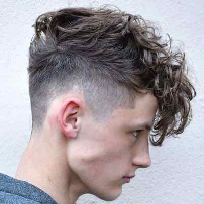 how to style mens hair