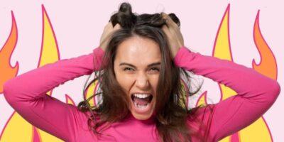 Hair stylist burnout