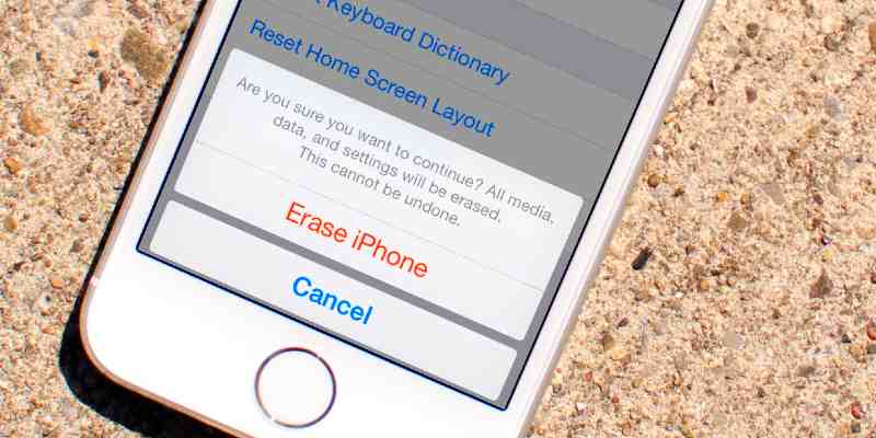 How to erase an iPhone: guide for new and older models