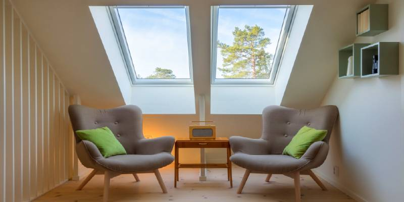 install skylights in houses